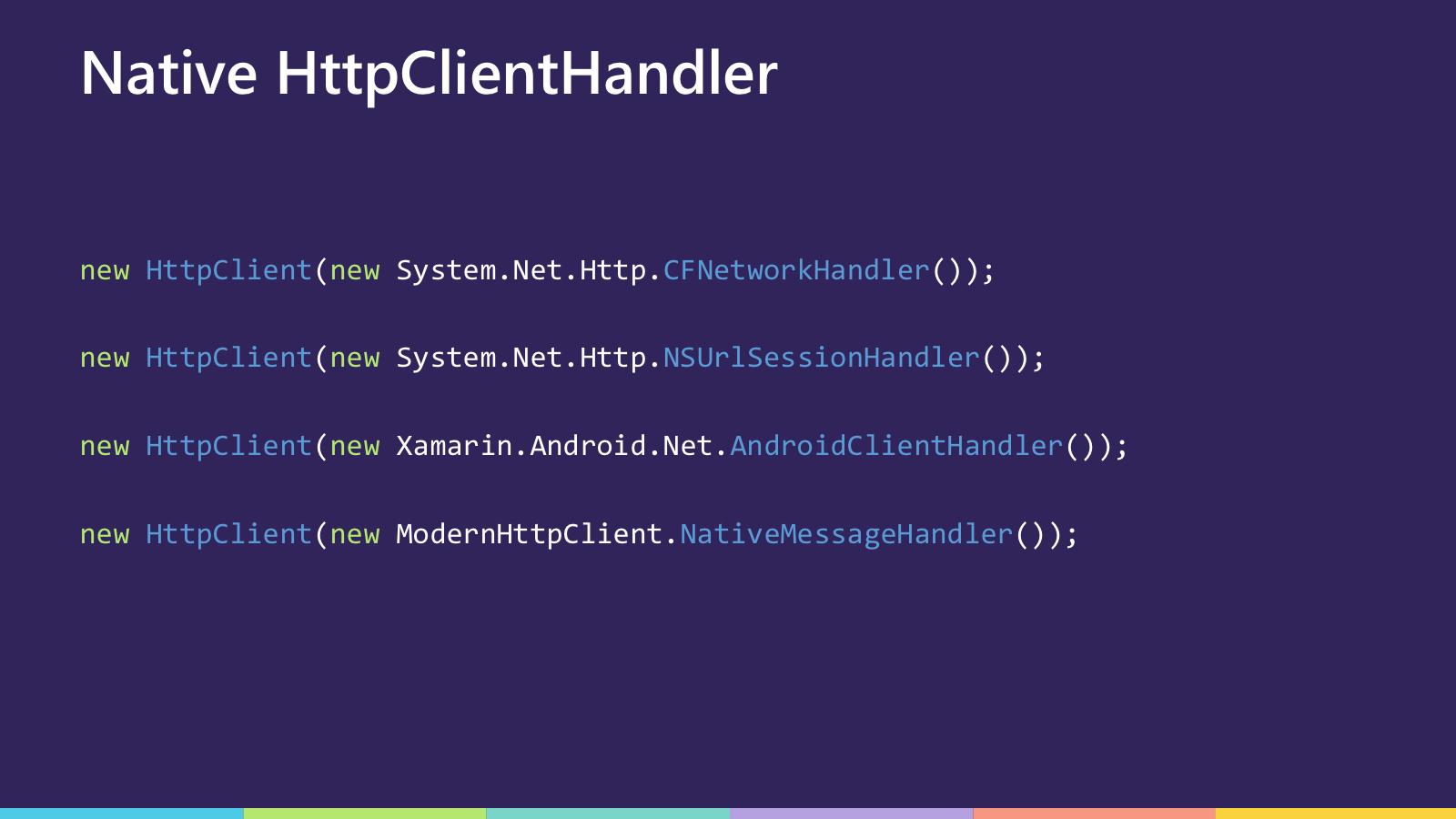 HttpClientHandlers